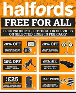 Cars, motorcycles & spares offers in the Halfords catalogue in Liverpool