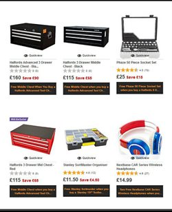 Car offers in the Halfords catalogue in Middlesbrough