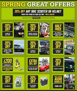 Cars, motorcycles & spares offers in the Halfords catalogue in Islington