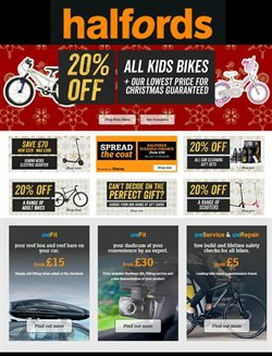 Cars, motorcycles & spares offers in the Halfords catalogue in Nottingham