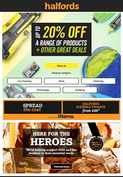 Cars, Motorcycles & Spares offers in the Halfords catalogue in Kingswood ( 26 days left )