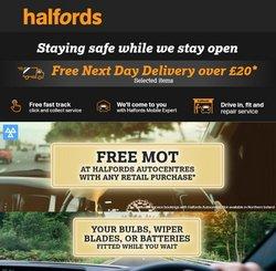 Halfords catalogue in Brighton ( Expired )