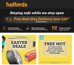 Halfords catalogue ( 2 days left )
