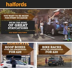 Cars, Motorcycles & Spares offers in the Halfords catalogue ( 19 days left)