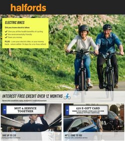 Halfords offers in the Halfords catalogue ( 5 days left)
