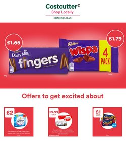 Costcutter offers in the Costcutter catalogue ( 7 days left)