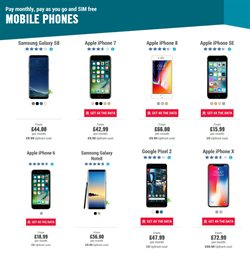 Samsung Galaxy offers in the Carphone Warehouse catalogue in London