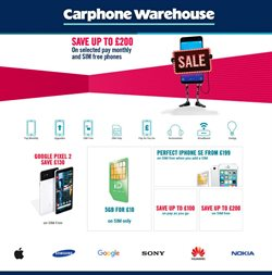 IPhone offers in the Carphone Warehouse catalogue in Haringey