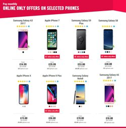 IPhone 8 offers in the Carphone Warehouse catalogue in London
