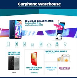 Carphone Warehouse offers in the London catalogue