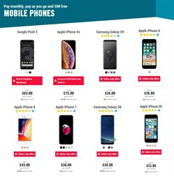 IPhone offers in the Carphone Warehouse catalogue in Barking-Dagenham
