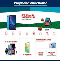 IPhone offers in the Carphone Warehouse catalogue in Aberdeen