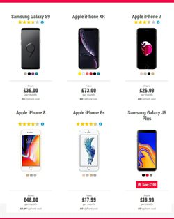 IPhone offers in the Carphone Warehouse catalogue in Newcastle upon Tyne