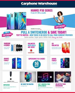Carphone Warehouse offers in the Wolverhampton catalogue