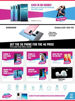 Electronics offers in the Carphone Warehouse catalogue in Nottingham ( 21 days left )