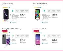 Offers of IPhone XR in Carphone Warehouse