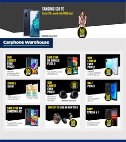 Black Friday offers in the Carphone Warehouse catalogue ( 1 day ago)