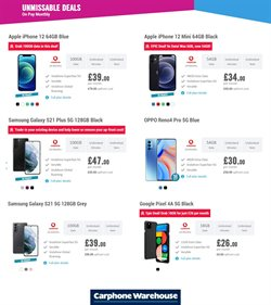 Carphone Warehouse catalogue ( Expires today )