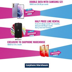 Carphone Warehouse catalogue in Leeds ( 9 days left )
