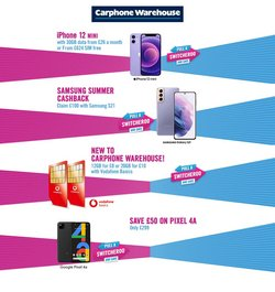 Carphone Warehouse offers in the Carphone Warehouse catalogue ( 2 days left)