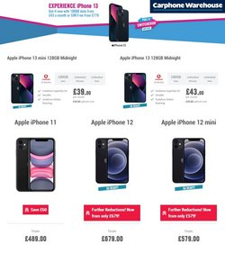 Carphone Warehouse offers in the Carphone Warehouse catalogue ( Expires today)