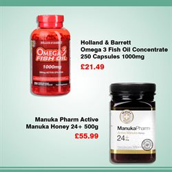 Oil offers in the Holland & Barrett catalogue in York