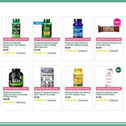 Infusions offers in the Holland & Barrett catalogue in York