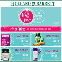 Holland & Barrett offers in the York catalogue