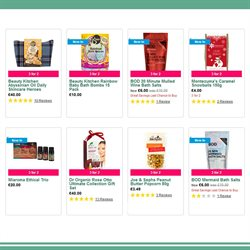 Peanut butter offers in the Holland & Barrett catalogue in London