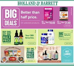 Holland & Barrett offers in the Manchester catalogue