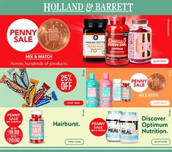 Holland & Barrett offers in the Cannock catalogue