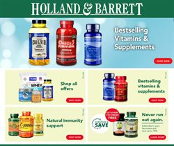 Holland & Barrett catalogue in Wolverhampton ( More than a month )