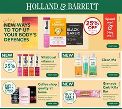 Holland & Barrett catalogue in London ( Expired )