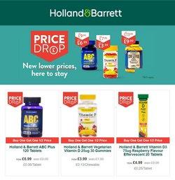 Holland & Barrett offers in the Holland & Barrett catalogue ( 6 days left)