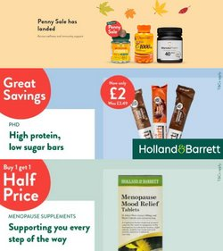 Holland & Barrett offers in the Holland & Barrett catalogue ( 11 days left)