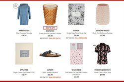 Sandals offers in the TK Maxx catalogue in London