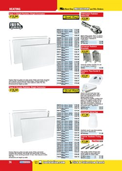 Radiator offers in the Toolstation catalogue in London