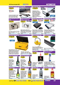Trailer offers in the Toolstation catalogue in London