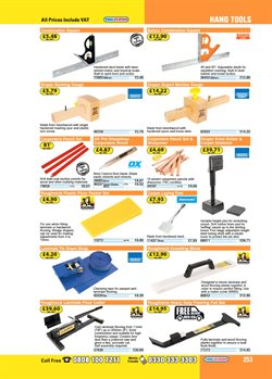 Laminate flooring offers in the Toolstation catalogue in London