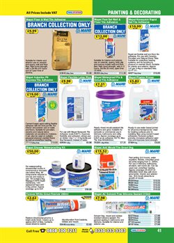 Shower offers in the Toolstation catalogue in London