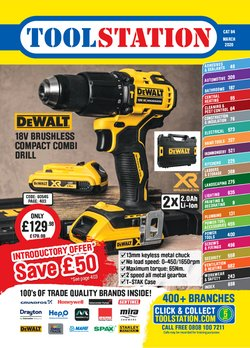 Garden & DIY offers in the Toolstation catalogue in Bolton ( 3 days left )