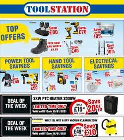 Garden & DIY offers in the Toolstation catalogue in Kidderminster ( 2 days left )