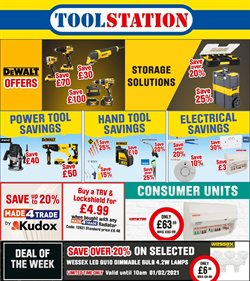 Garden & DIY offers in the Toolstation catalogue in Birmingham ( 3 days left )