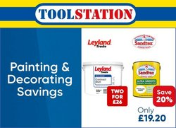 Garden & DIY offers in the Toolstation catalogue ( 3 days left)