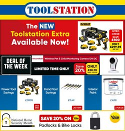 Garden & DIY offers in the Toolstation catalogue ( Expires tomorrow)
