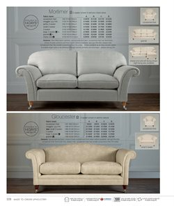 Sofa offers in the Laura Ashley catalogue in Rhondda