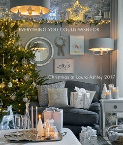 Christmas decoration offers in the Laura Ashley catalogue in London