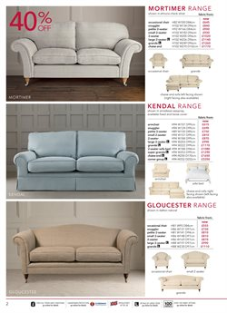 Sofa bed offers in the Laura Ashley catalogue in London