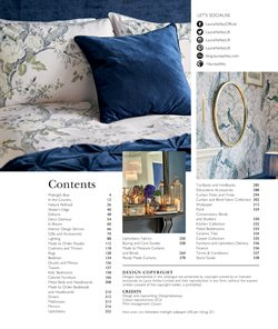 Wallpaper offers in the Laura Ashley catalogue in London