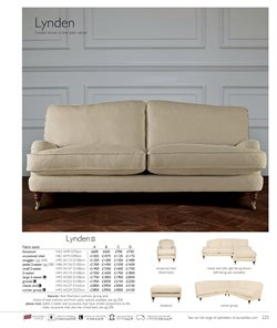 Sofa offers in the Laura Ashley catalogue in Widnes